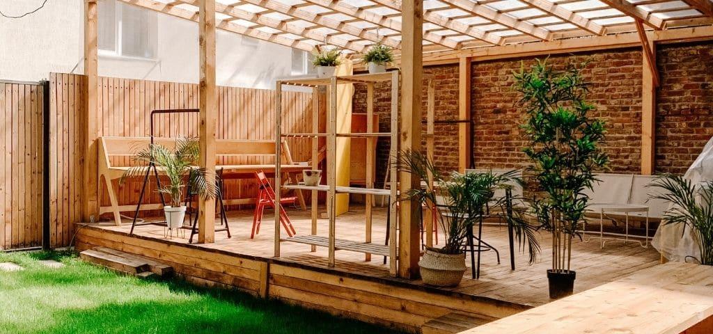 salon de jardin terrasse bois