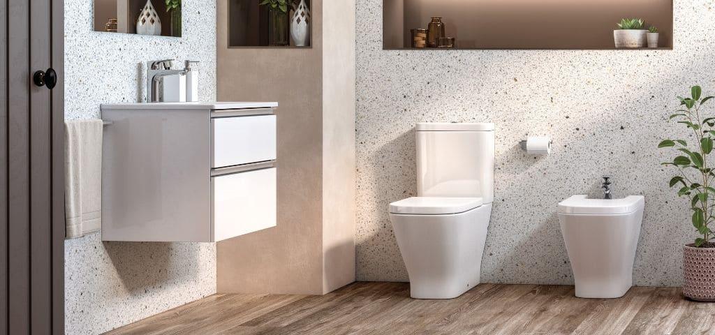 salle de bain granito terrazzo